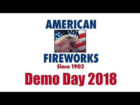 American Fireworks Demo Day 2018 - Pyro Musical