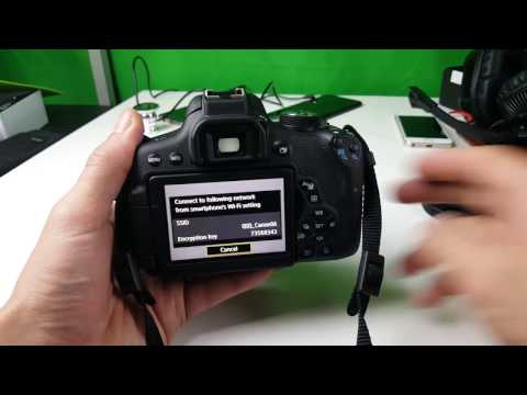 Canon Rebel T6i (750D): How to Connect to Wifi (Wifi Setup) w/ Examples & How to Use
