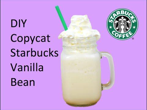 DIY Copycat Starbucks Vinalla Bean