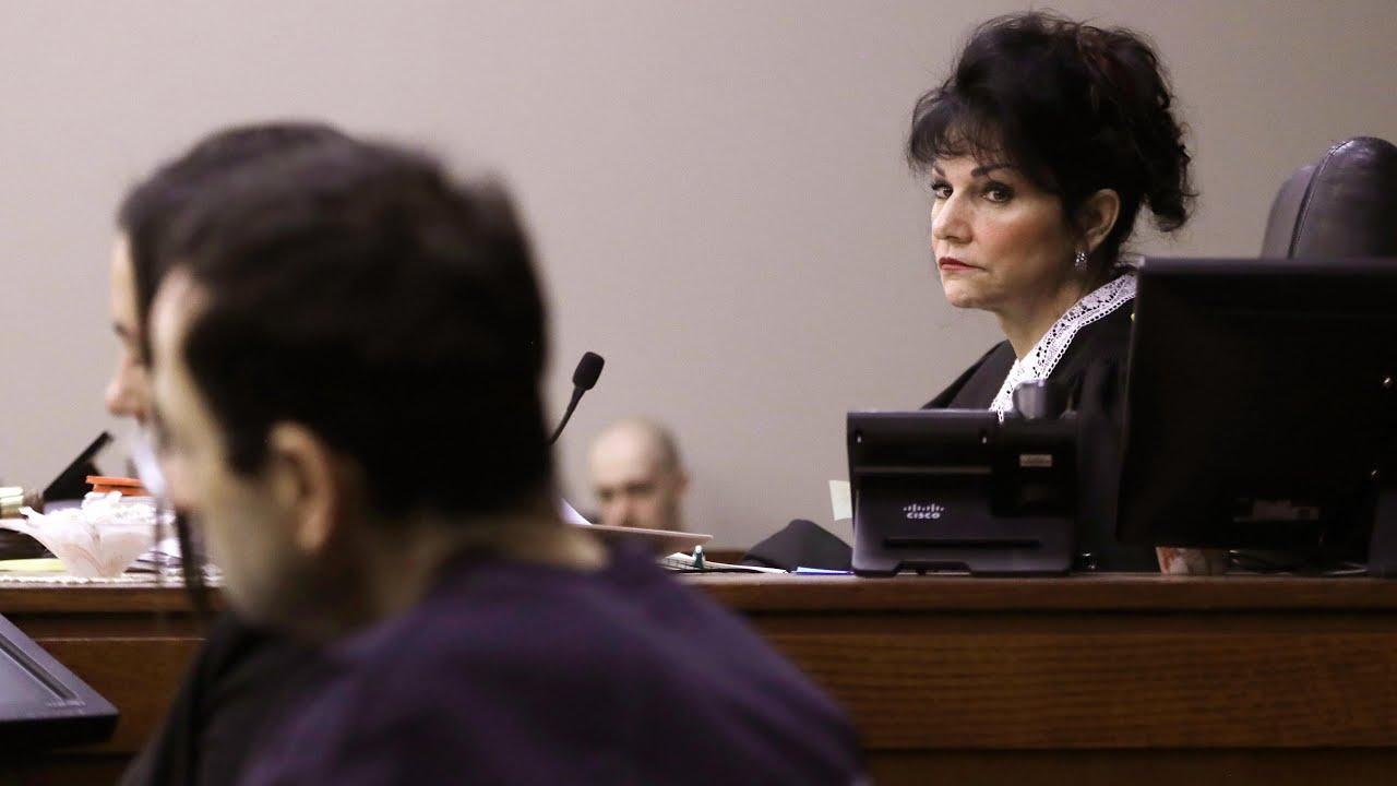 Judge tells Larry Nassar 'I just signed your death warrant'