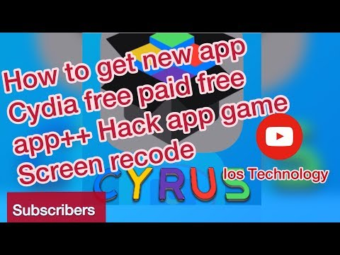 How To Get New App Cydia Free Paid hack App++ ios9,10-11
