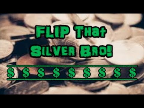 Flippin that Silver! Buying and Selling Silver as a Job? Is it Viable?