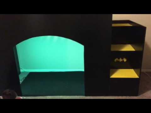 Batman bat kids bed 2nd video