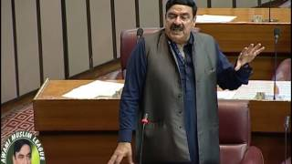 Sheikh Rasheed Ahmed speech national assembly 20 march 2017  Army Courts