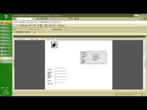 SAP Adobe Forms - Day1 of 2 - by Praveen Makam