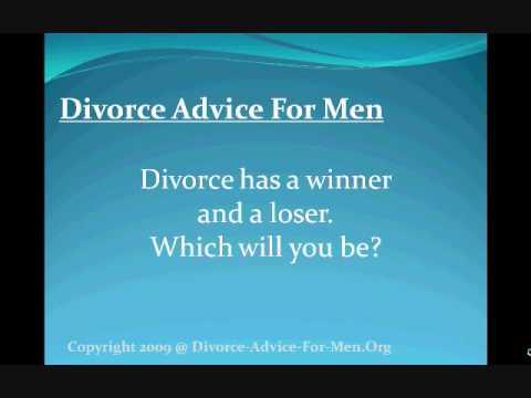 Divorce Advice For Men