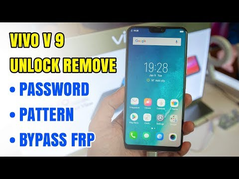 Vivo V9 Unlock Remove Password Lock Pattern | Bypass Frp Google Account 2018
