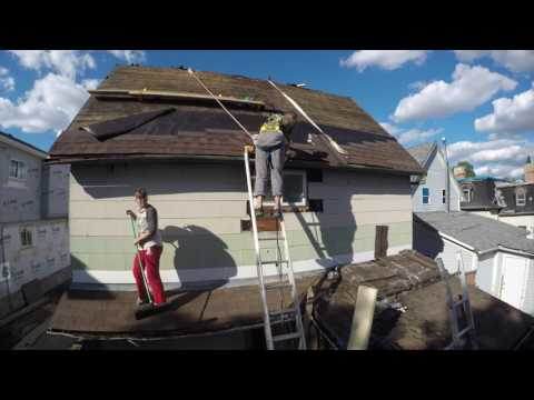 How Install Shingles  on Pitch Roof angle 50 degrees