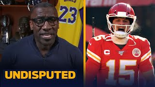 We hate to see our heroes fall, but Mahomes is now better than Brady — Shannon | NFL | UNDISPUTED