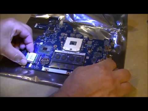 Acer Aspire 5742 laptop motherboard removal and replacement
