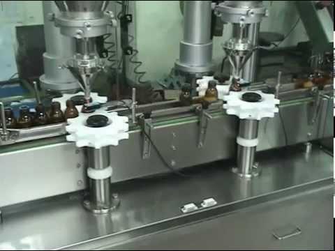 Auger Powder Filling machine - 2 Head Auger Powder Filling machine