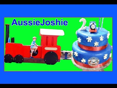Thomas and Friends   Thomas Train Themed 2nd Birthday Party for Children   Fun Toy Trains for Kids