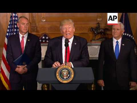 Trump Wants Review of National Monuments