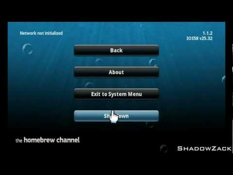 ★ Install Homebrew Channel on Wii U [Wii Mode]