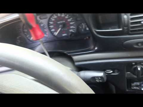 Remove wiper switch ford contour