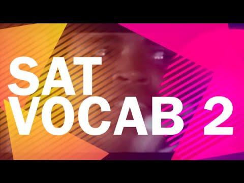 SAT Vocab 2 - SAT Words - Better than Memorizing!