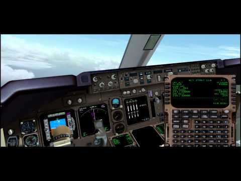 FSX Timelapse China Airlines 747 Taipei to Okinawa