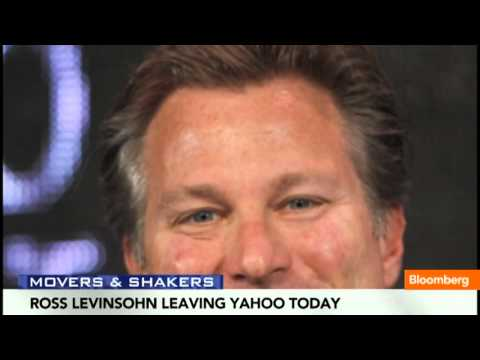 Yahoo's Ross Levinsohn Is Leaving Yahoo Today