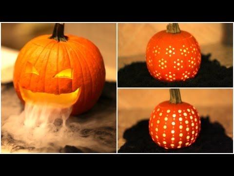 🎃 DIY Pumpkin Carvings | Cute Halloween Ideas 🎃