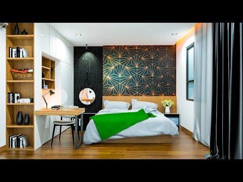 Sketchup Rendering: Architectural Rendering - Nice Bedroom 026 Using Vray 3.4 for Sketchup 2017
