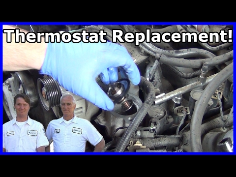 How to Replace Your Thermostat Ford Explorer 4.6L V8 2002-2005