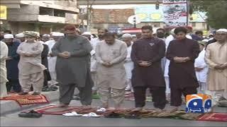 Karachi mein Eid-ul-Fitr Sadgi se manai gai