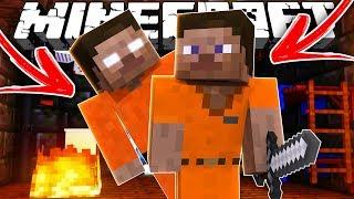 Steve Goes to Prison (Minecraft Mini Movie)