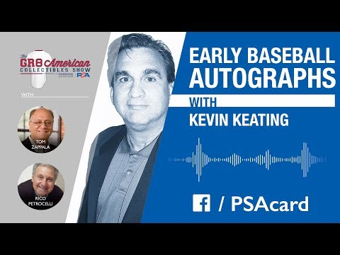Checking In With PSA – 10.18.17 – The Great American Collectibles Show