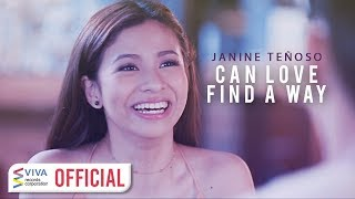 Janine Teñoso - Can Love Find A Way [Official Music Video]