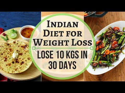 Indian Weight Loss Meal Plan/Diet Plan   Super Weight Loss Roti Recipe to Lose 10 Kg in 30 Days