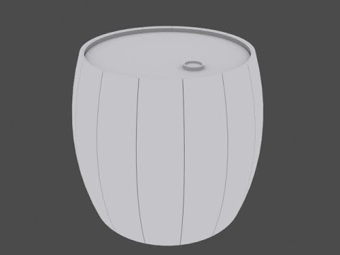 how to make a barrel in 3ds max  | barrel in 3ds max