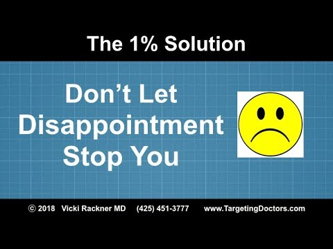 Don't Let Disappointment Stop You