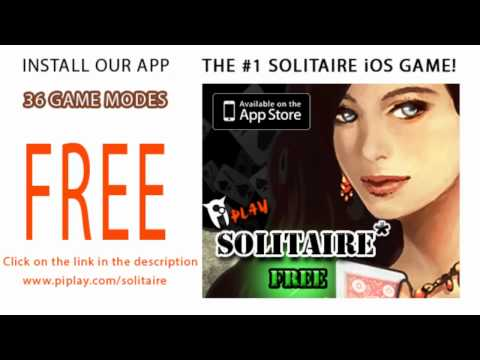 Solitaire for the iPad, iPod, and iPhone - The BEST Solitaire Game for the iOS
