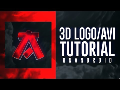 How To Make Cool 3D Logo/AVI On Android (Ps Touch)