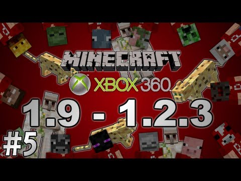 (OUTDATED) [Minecraft Xbox 360] 1.9 - 1.2.3 Updates Info #5: Ocelots, Jungles and Iron Golems