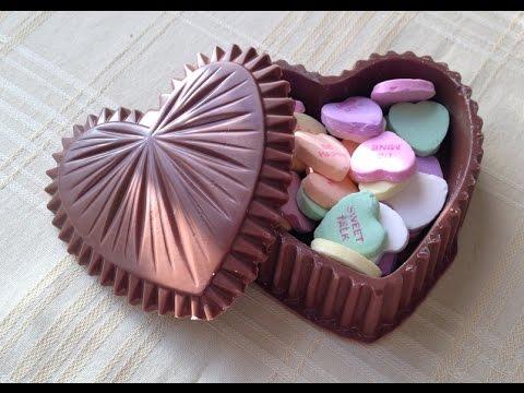 Edible Heart Shaped Box