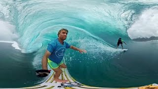 GoPro VR: Tahiti Surf with Anthony Walsh and Matahi Drollet