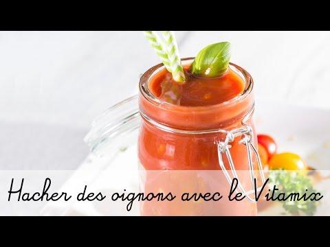 Recette avec le blender Vitamix : cocktail du jardin (légumes)
