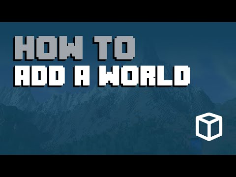How To Add A New World To Your Minecraft Server