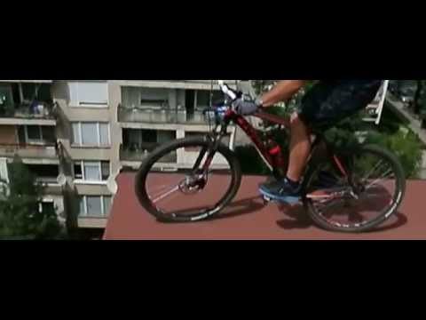 On the edge with DRAG 29er mountain bike in slow motion / Kолело ДРАГ 29 инча