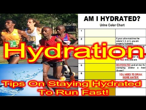 Hydration: Tips To Stay Hydrated To Run Fast And Recover Faster!!!