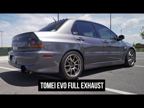 Evo IX Tomei Full Exhaust - SKU 431003, 433003, 440003