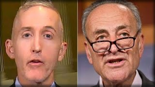 WOW! TREY GOWDY JUST HUMILIATED CHUCK SCHUMER ON LIVE TV! HIS QUESTION FOR DEMOCRATS IS PRICELESS!