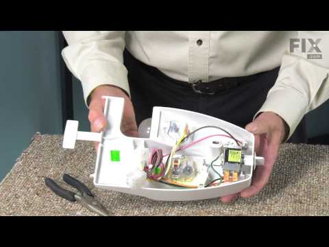 Whirlpool Refrigerator Repair – How to replace the Temperature Control Thermostat