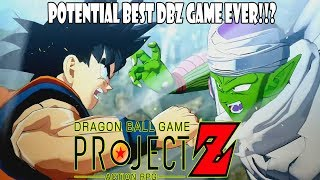 NEW DRAGON BALL ACTION RPG PROJECT Z CAN BE THE BEST DBZ GAME YET!
