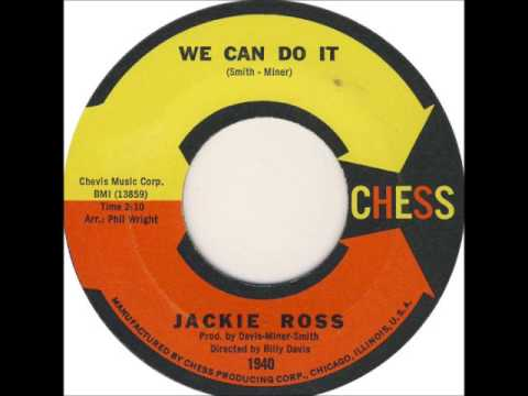 JACKIE ROSS  - WE CAN DO IT