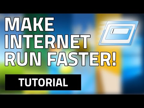 How to make your network (Internet) speed FASTER - (Using RUN) HD