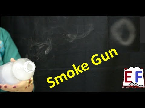 Science Behind Smoke Gun: Physics school Experiment