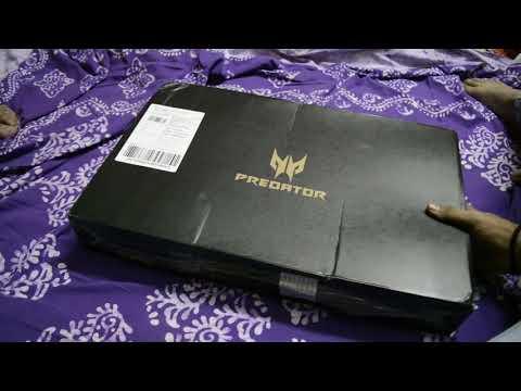 Fast unpack acer predator Helios 300