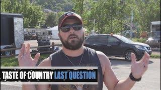Tyler Farr Admits Fear Of Lee Brice, Loves Ninja Turtles - Last Question